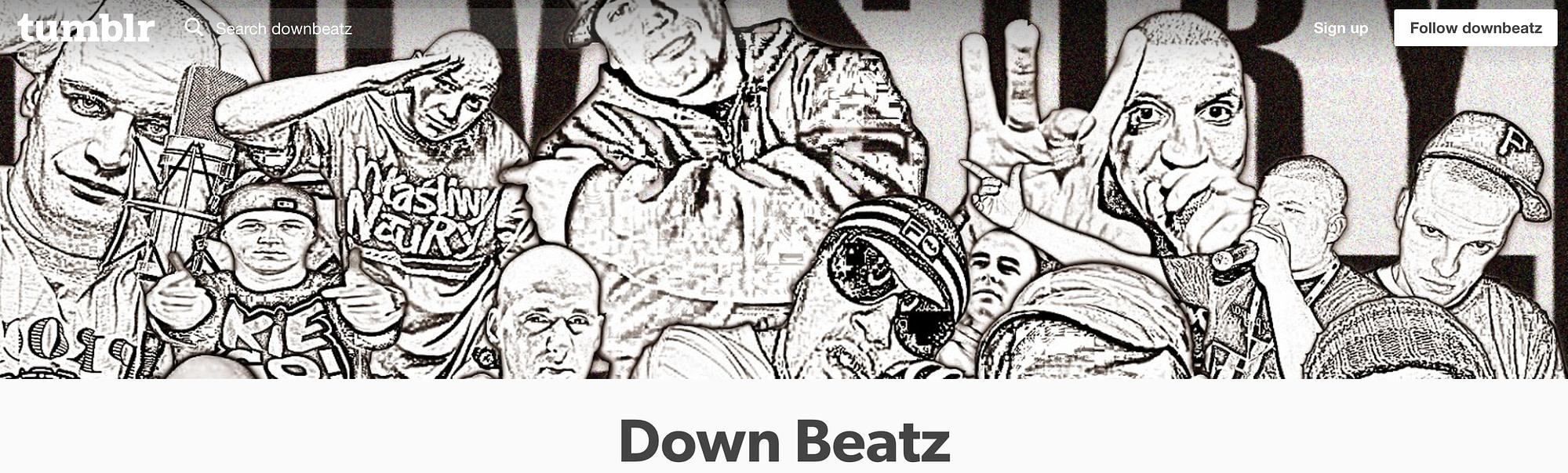 dOWN beatz Tumblr image